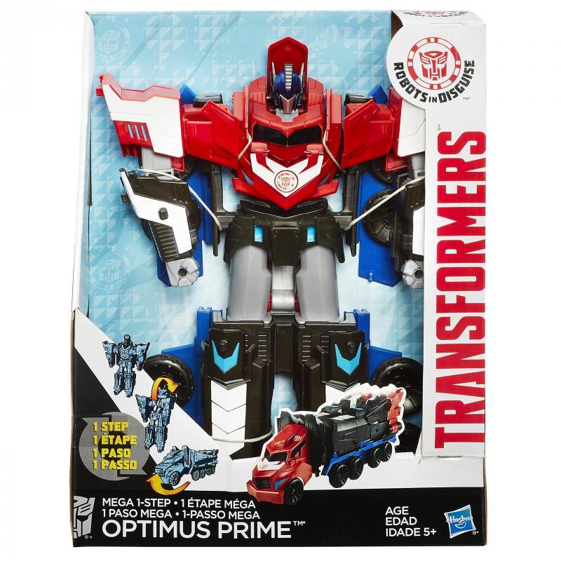 figurki hasbro transformers mega optimus prime