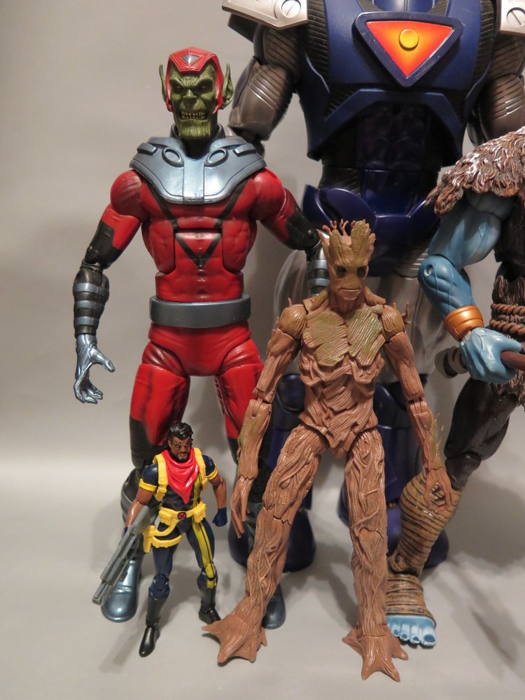 Marvel Universe Bishop Marvel Legends BAF Groot