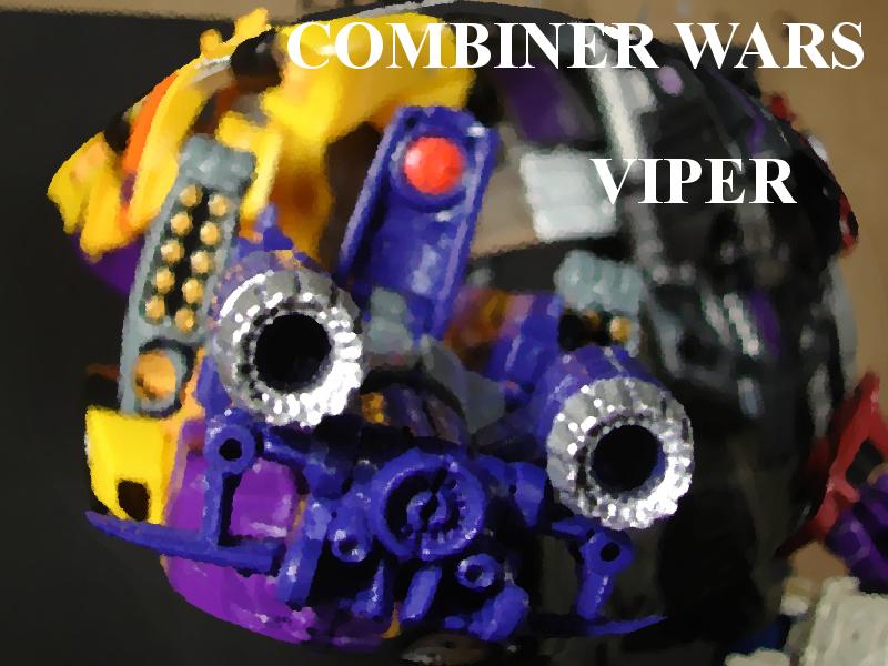 Combiner Wars Viper 00