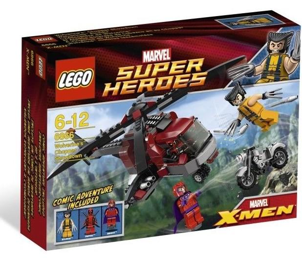 Deadpool lego original 6866