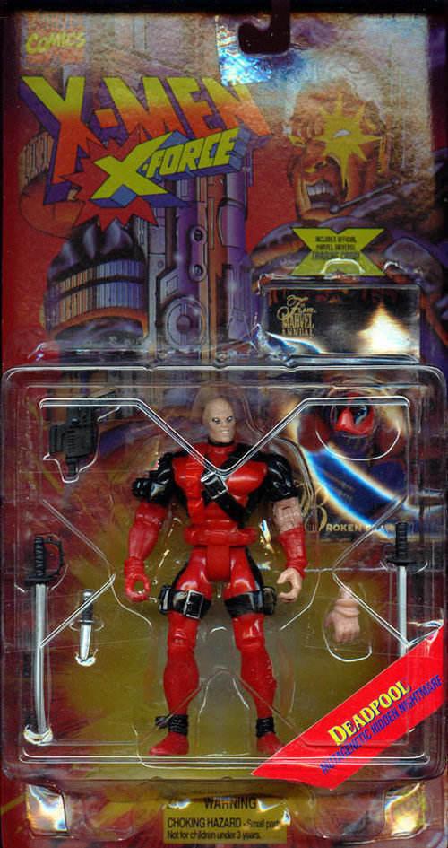 Figurki Deadpool ToyBiz