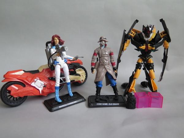 Old Snake Marissa Faireborn Joe Transformers Crossover