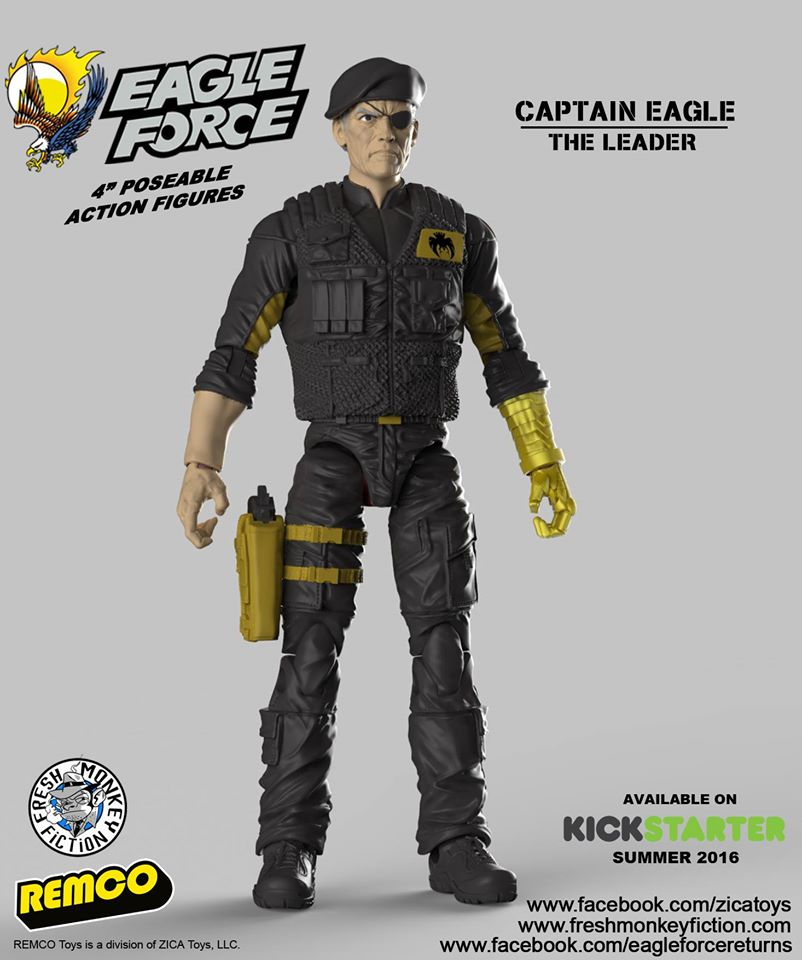 remco eagle force