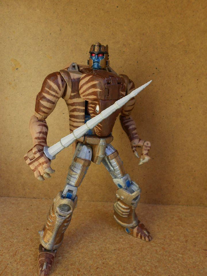 Transformers Beast Wars Dinobot Printformers