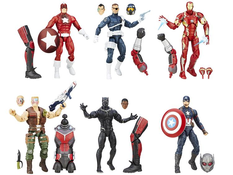 Figurki Marvel Civil War Marvel Legends