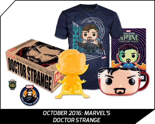 Funko Pop collectors case Doctor Strange