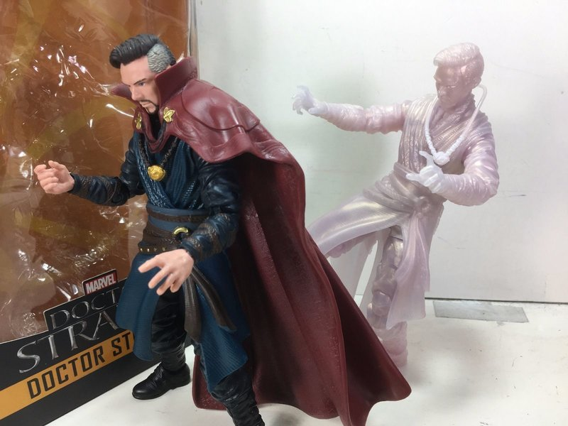 Figurki Doctor Strange Marvel Legends movie astral and normal form