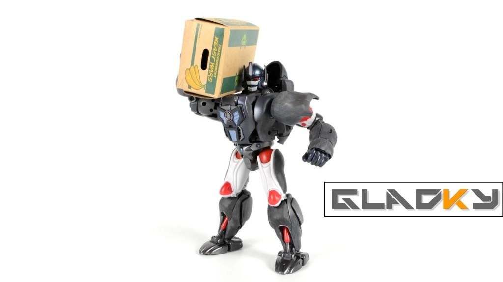 Masterpiece Optimus Primal miniatura