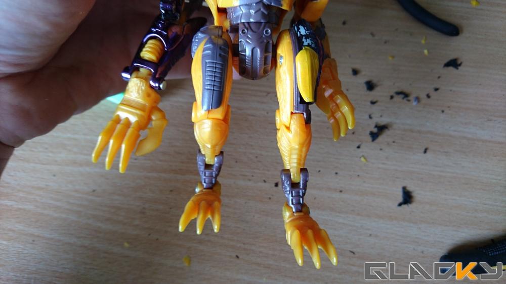 Custom Beast Wars Transmetal II Cheetor WIP (1)