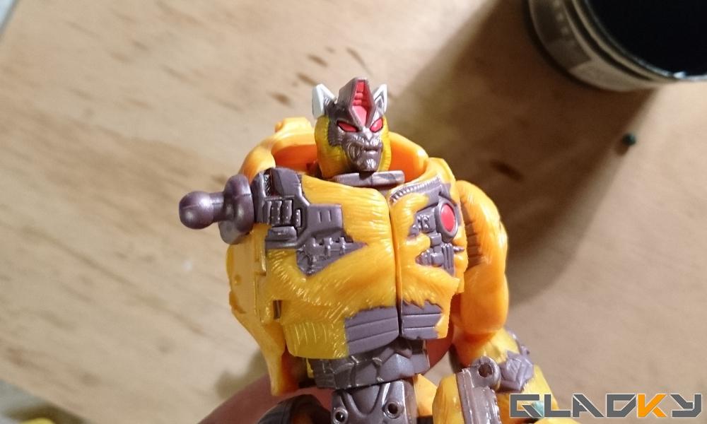 Custom Beast Wars Transmetal II Cheetor WIP (11)