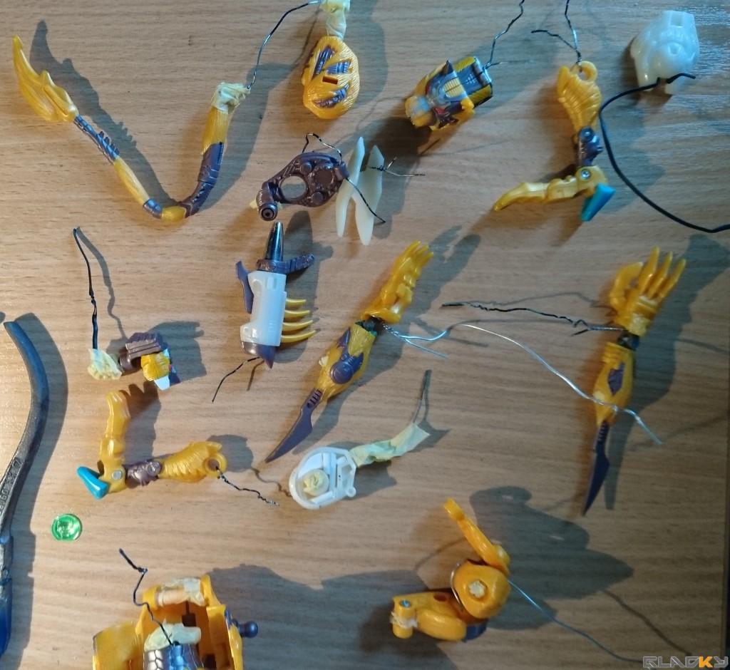 Custom Beast Wars Transmetal II Cheetor WIP (19)
