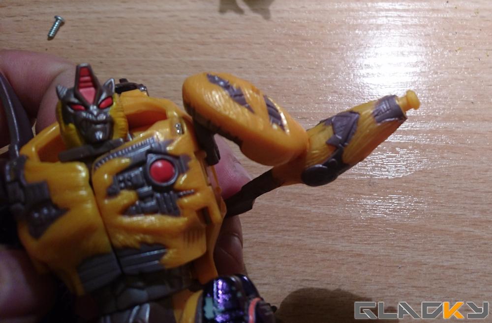 Custom Beast Wars Transmetal II Cheetor WIP (2)