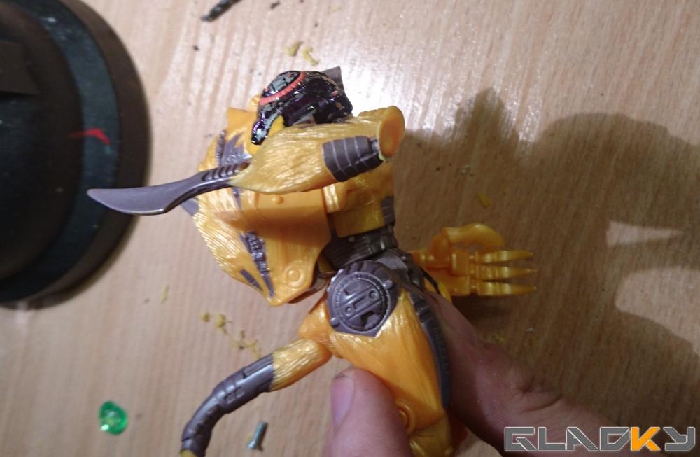 Custom Beast Wars Transmetal II Cheetor WIP (7)