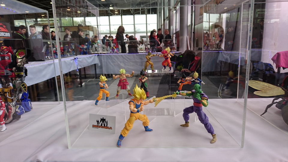 Pyrkon 2017 Dragon Ball figurki