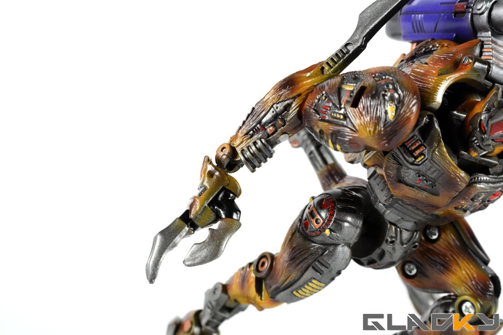 Gladky Custom Beast Wars Transmetal II Cheetor (12)