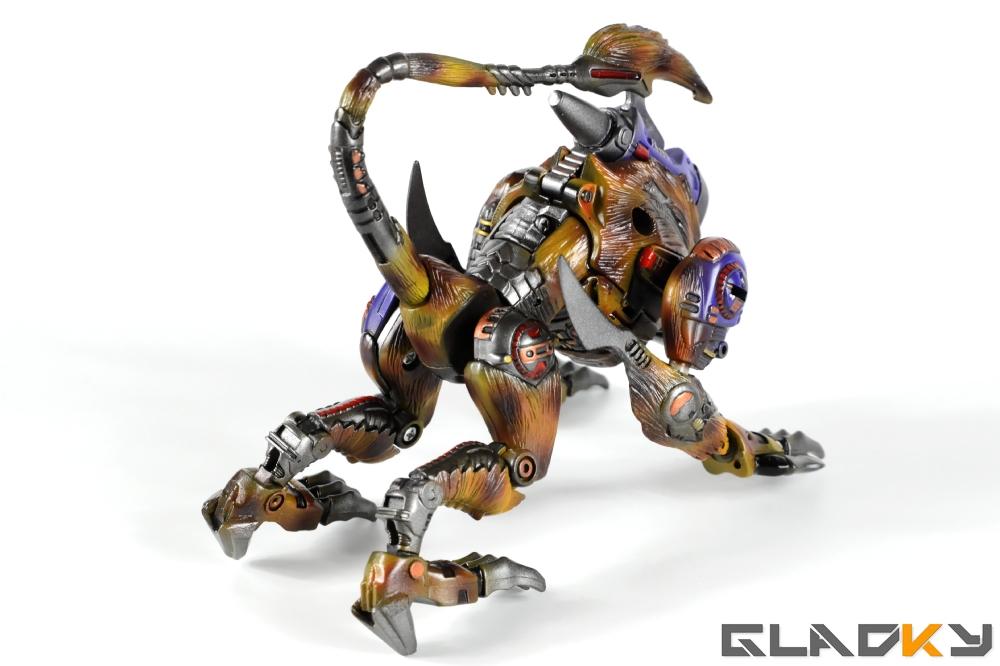 Gladky Custom Beast Wars Transmetal II Cheetor (15)