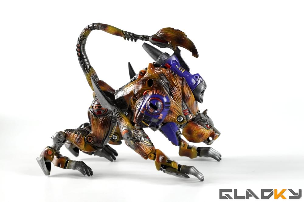 Gladky Custom Beast Wars Transmetal II Cheetor (19)