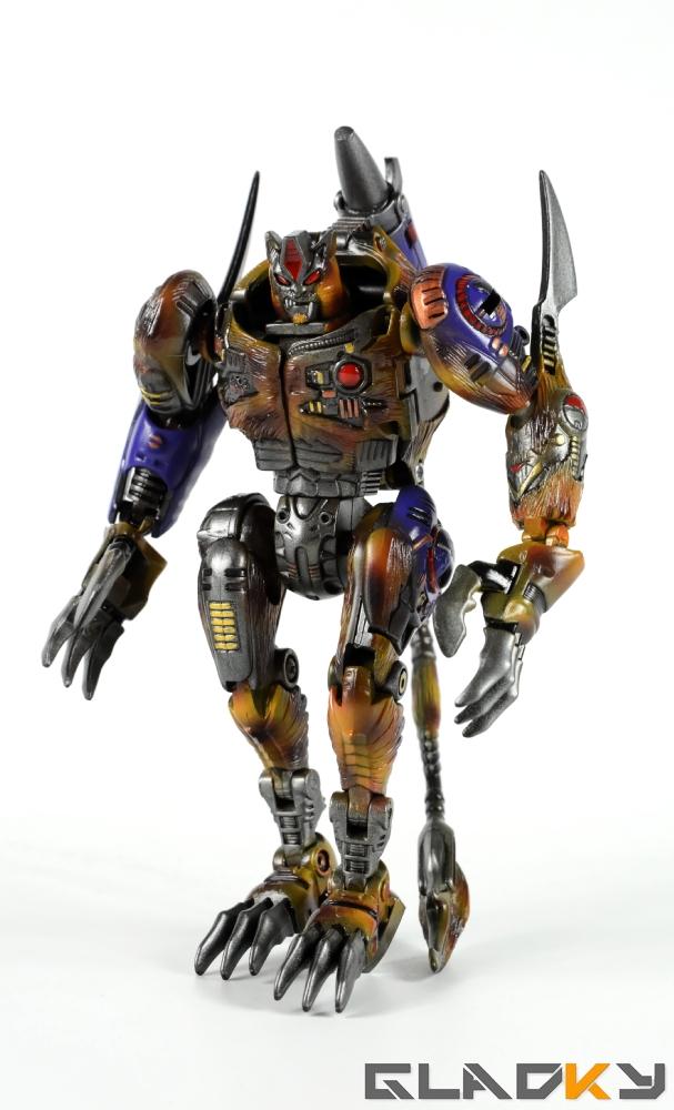 Gladky Custom Beast Wars Transmetal II Cheetor (2)