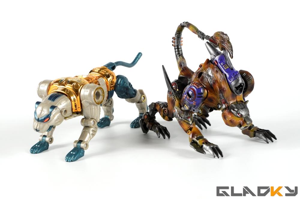 Gladky Custom Beast Wars Transmetal II Cheetor (20)