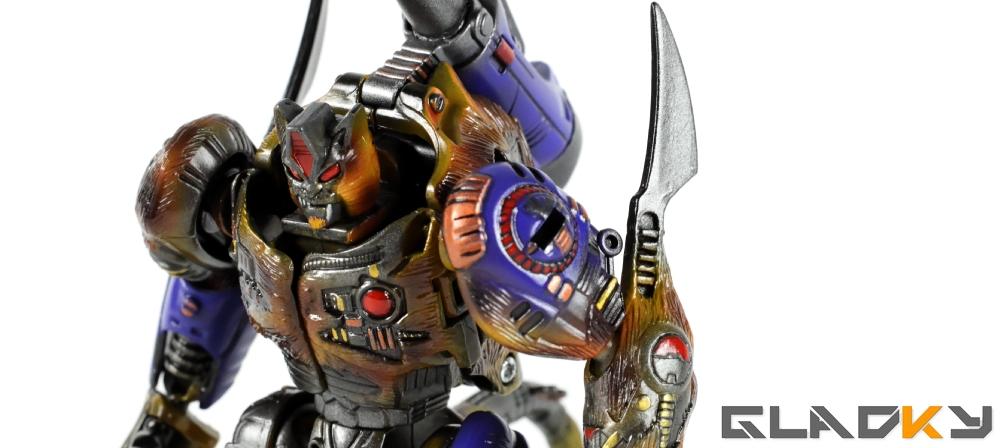 Gladky Custom Beast Wars Transmetal II Cheetor (4)