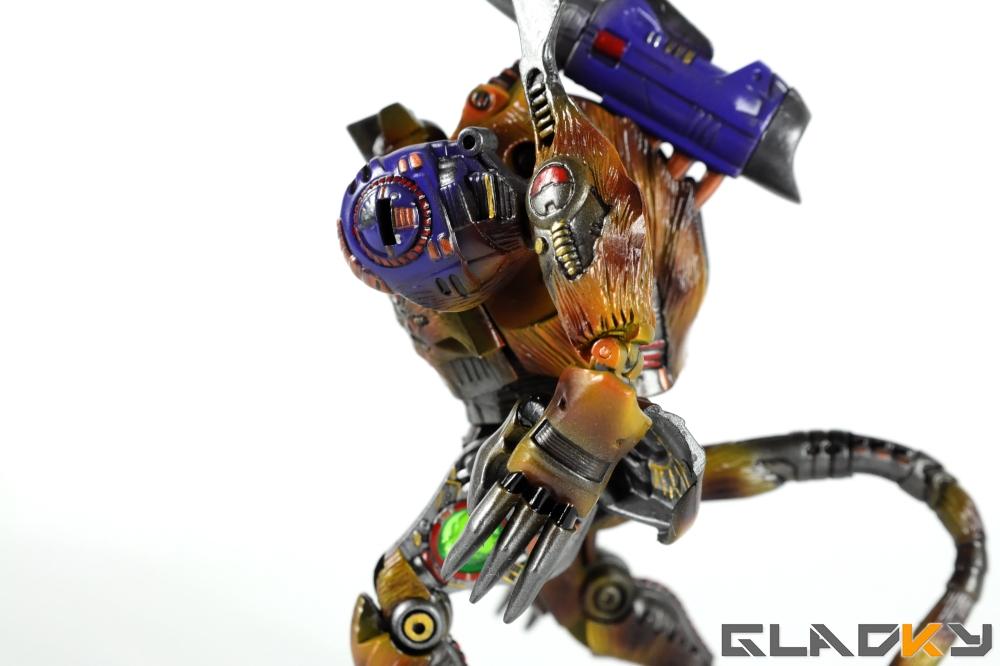 Gladky Custom Beast Wars Transmetal II Cheetor (9)