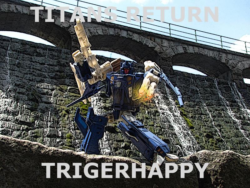 Titans Return Triggerhappy okładka
