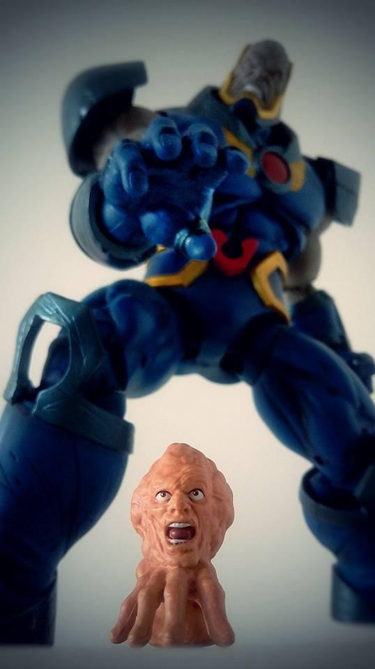 DC Icons Darkseid vs Branius