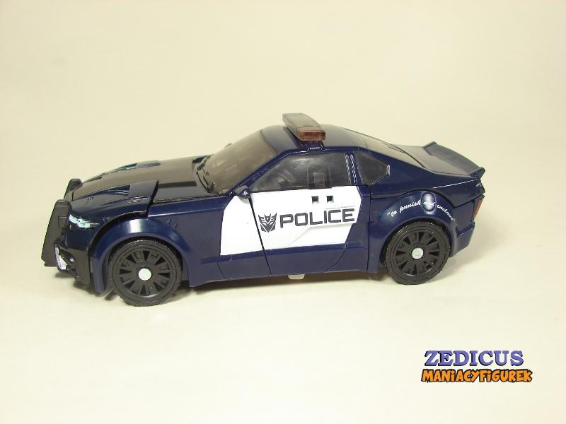 Transformers The Last Knight Barricade tryb alterantywny
