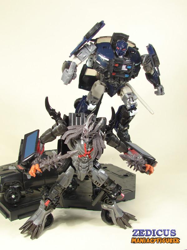 Transformers The Last Knight Barricade, DOTM Crankcase, TLK Berserker