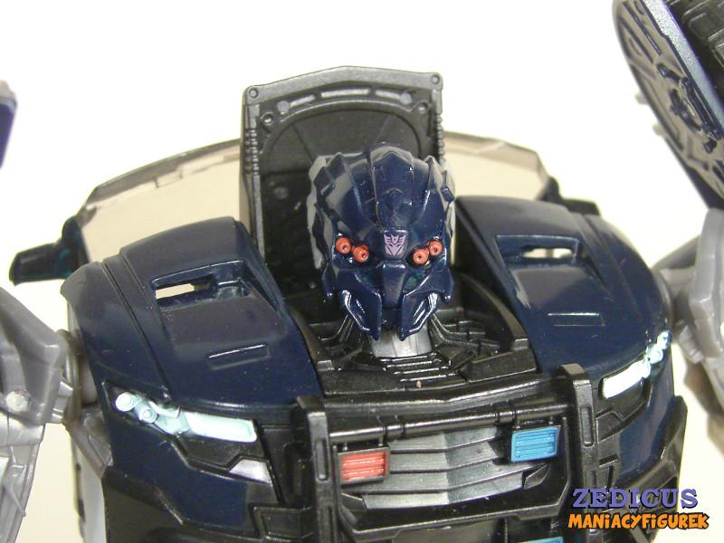 Transformers The Last Knight Barricade tryb robota