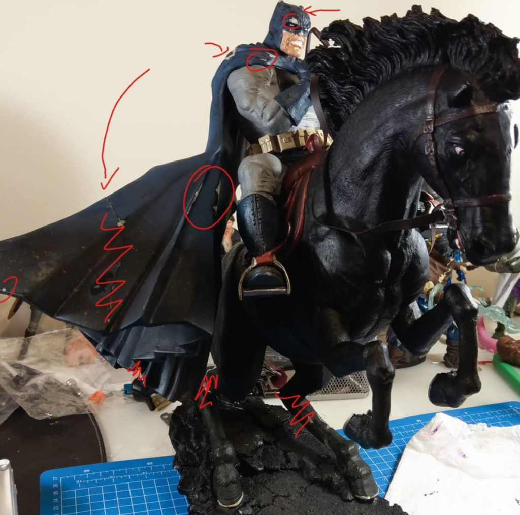 Shinigami Customs: Renowacja zniszczonej statuetki, część 2