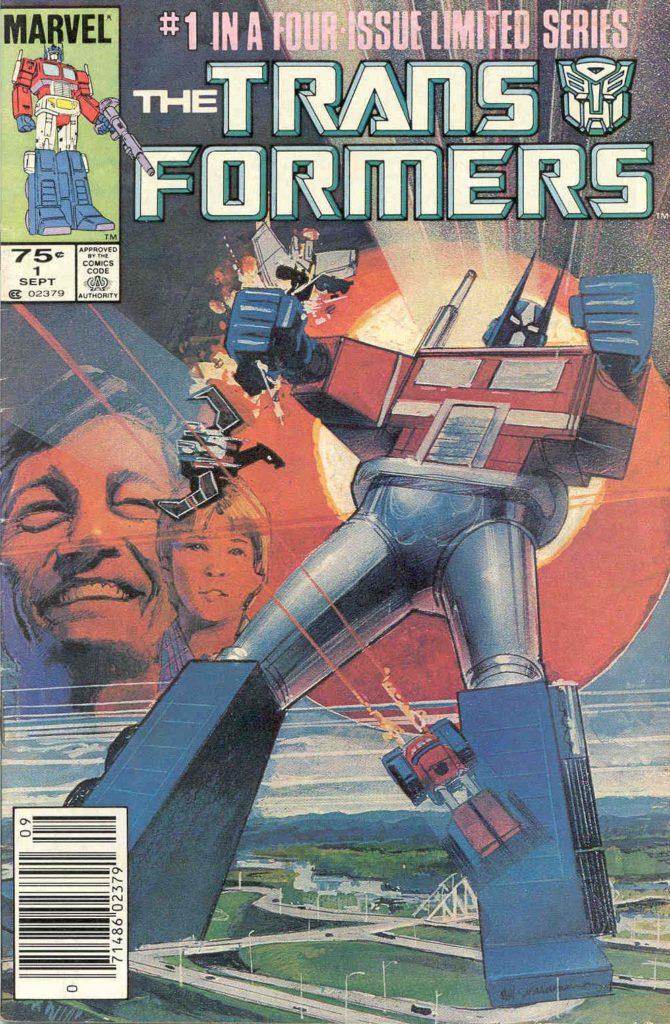 Komiks transformers