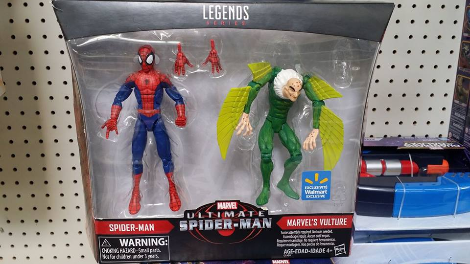 toy swapping spider-man homecoming vulture