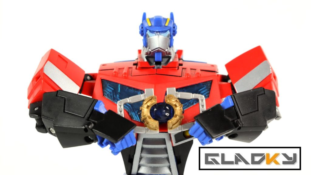 Miniatura Transformers Animated Optimus Maniacy