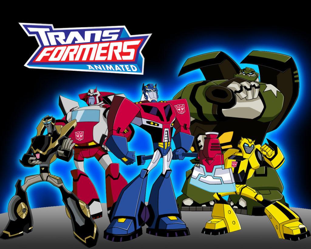 Transformers Animated Optimus Prime