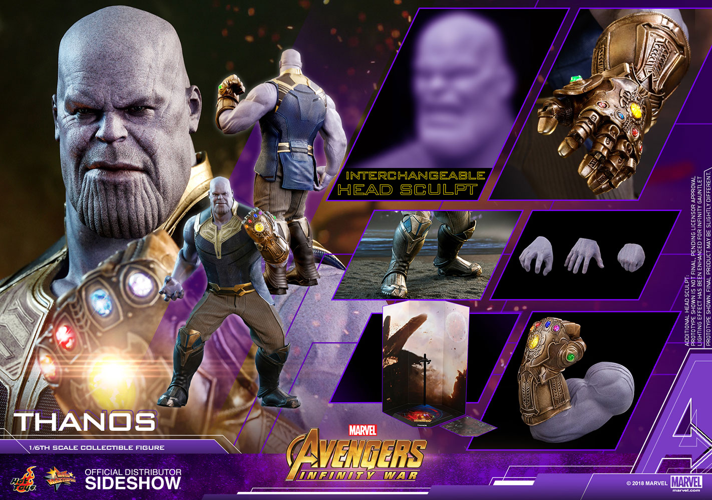 hot toys thanos avengers infinity war