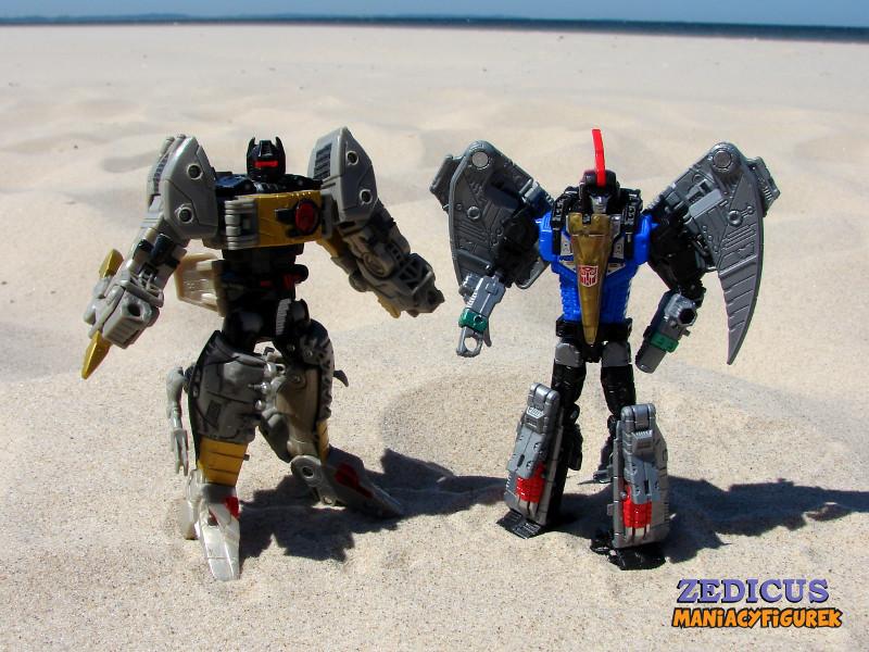 Swoop tryb robota 37 - Power of the Primes Swoop oraz Classic Grimlock