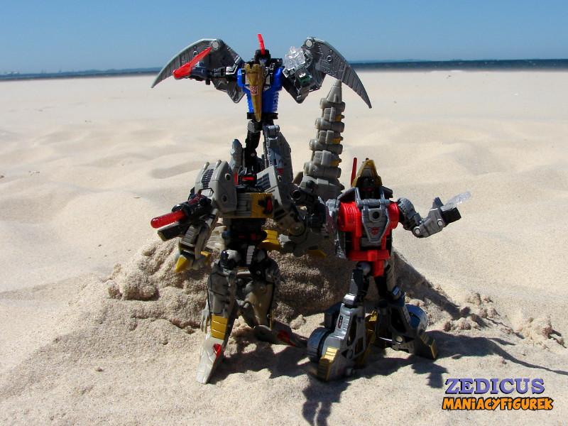 Swoop tryb robota 38 - Power of the Primes Swoop, Slug oraz Classic Grimlock
