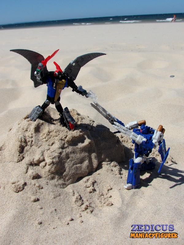 Swoop tryb robota 39 - Power of the Primes Swoop vs Titans Return Triggerhappy