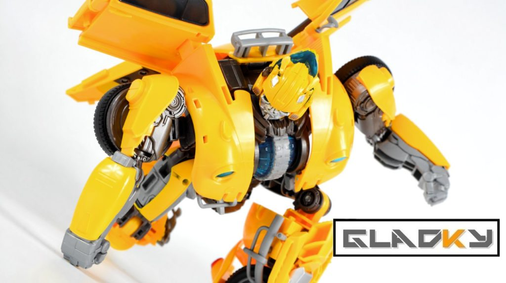Miniatura Power charge Bumblebee