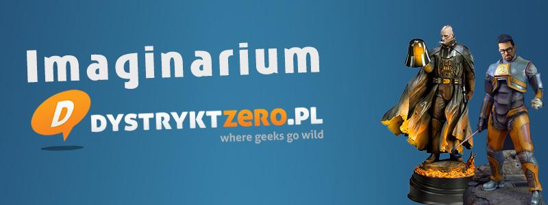 dystrykt zero logo sklep z figurkami dla geeków