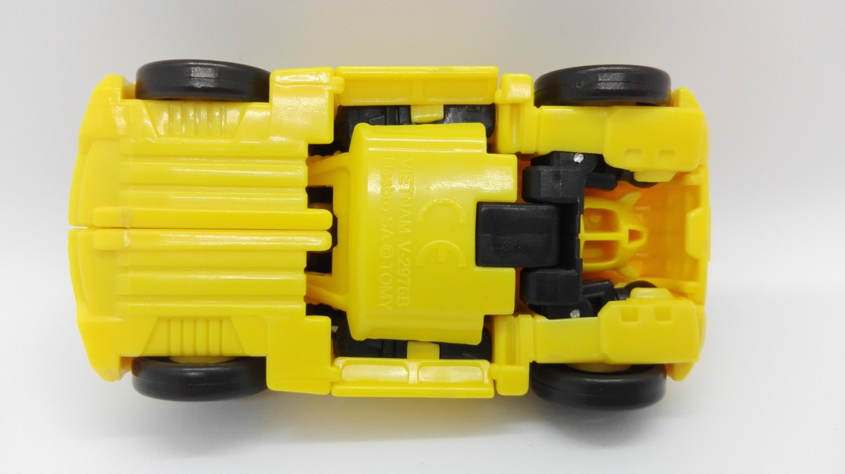 Transformers Generations Titans Return Bumblebee altmode-6