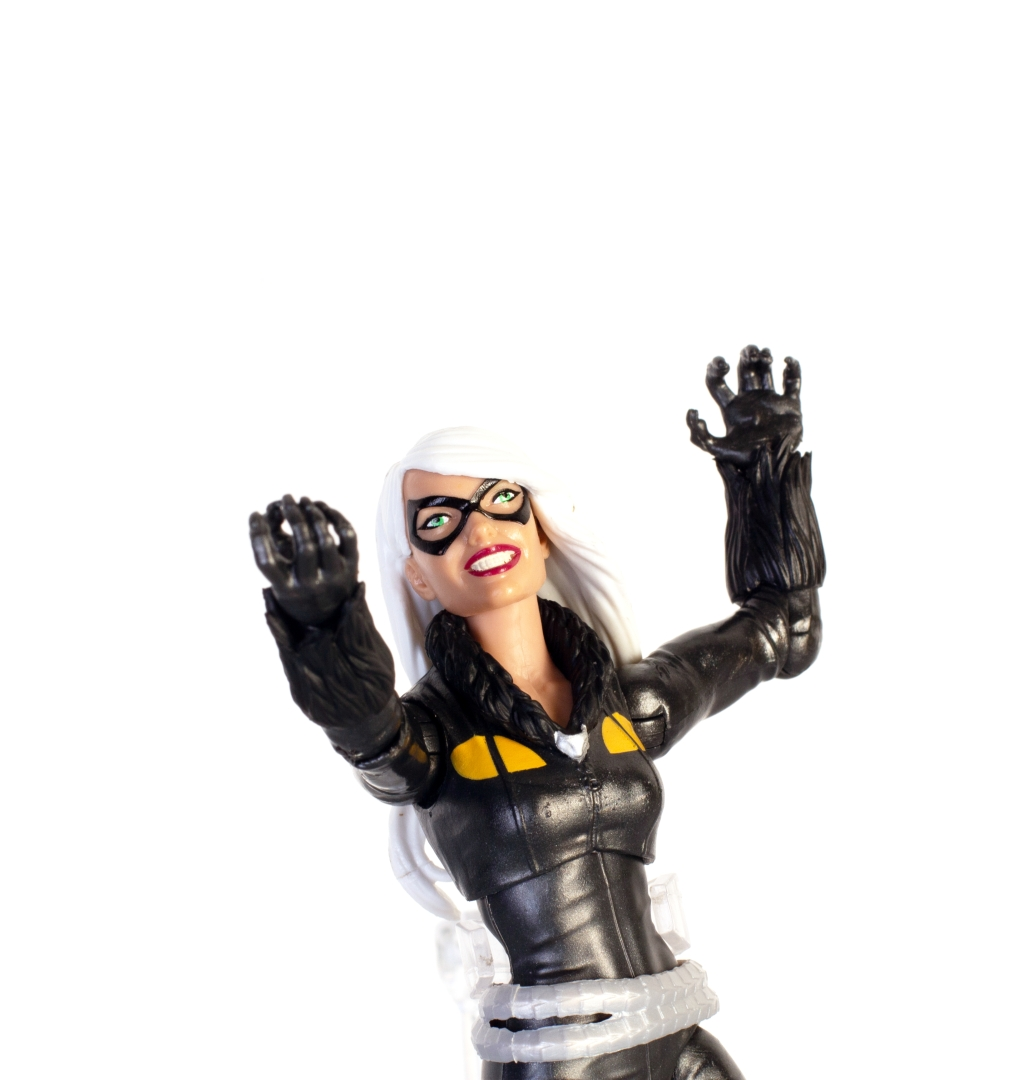 Black Cat Marvel Legends Kingpin BAF