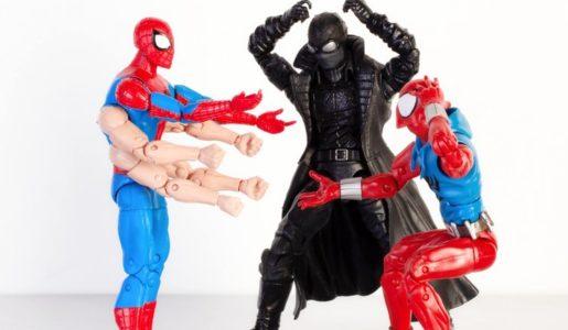 marvel legends six arms spider-man